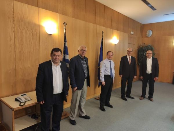 Mεγάλα έργα υποδομών για τη διευκόλυνση της μετακίνησης στα Βόρεια Προάστια διεκδικούν δήμαρχοι Αμαρουσίου, Ηρακλείου Αττικής, Λυκόβρυσης - Πεύκης και Κηφισιάς – Συνάντηση με τον υπουργό Υποδομών και Μεταφορών