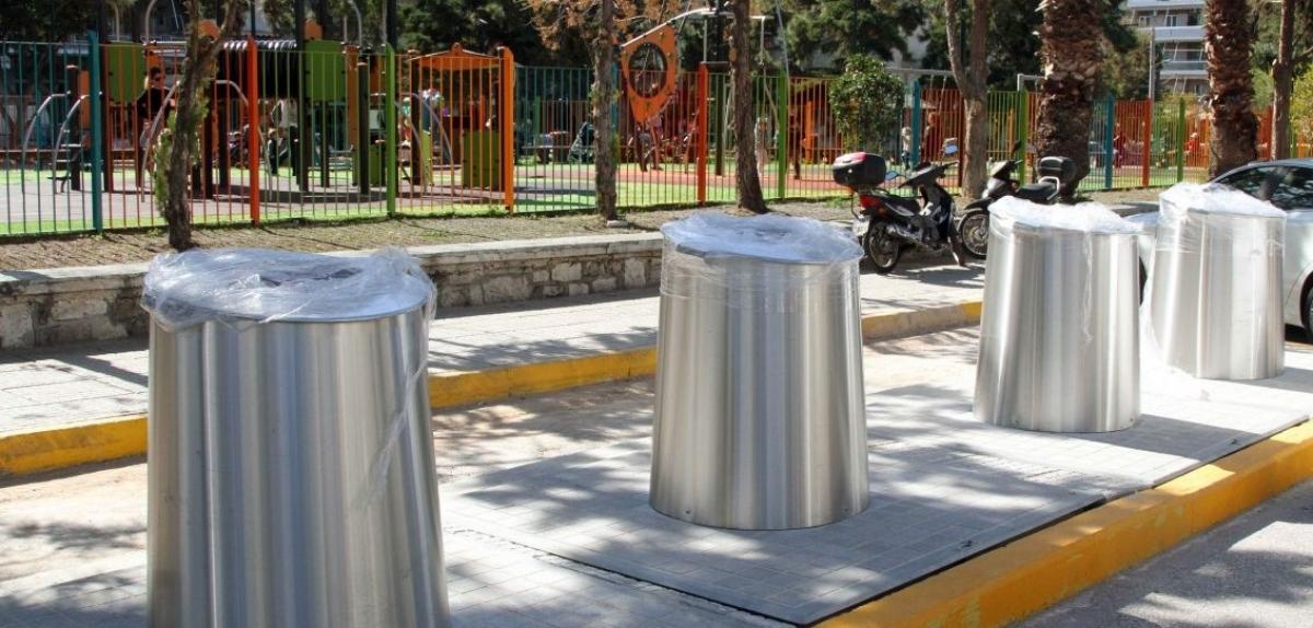 Το Πράσινο Ταμείο χρηματοδοτεί την εγκατάσταση υπόγειων κάδων στον Δήμο Λυκόβρυσης- Πεύκης